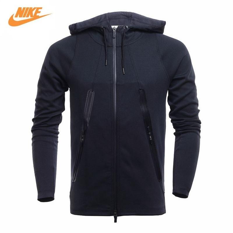 Nike Jacket Mens Spring Sports Hooded Training Jacket 724799-010 nike nike fuelband sports bracelet battery cover green m