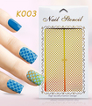 2016 New Hollowed-out Nail sticker 3D Style Nail Art Stickers DIY Nail Art Decorations Nail Decal Art Tools XFK1-5