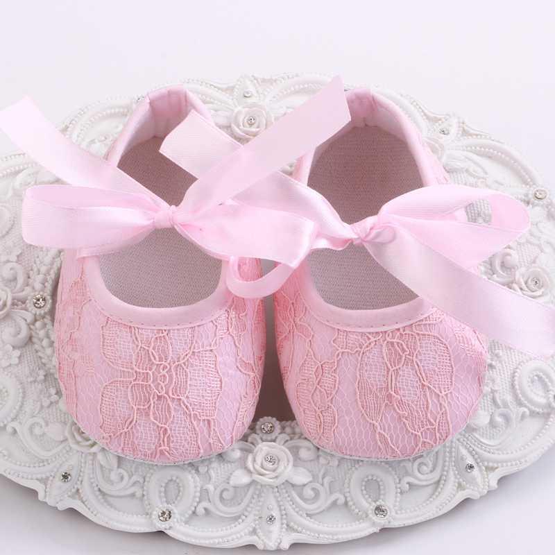 Zapatos de bautizo con flores desgastadas para niña, conjunto de Diadema con lazo, botines de cuna con diamantes de imitación para bebé, cuna niño niña botas Zapatos
