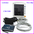 EMS FREE SHIP CMS5100 CMS-5100 three  Multi-parameter Vital Sign  ICU Patient Monitor, SPO2, NIBP,Pulse Rate Parameters