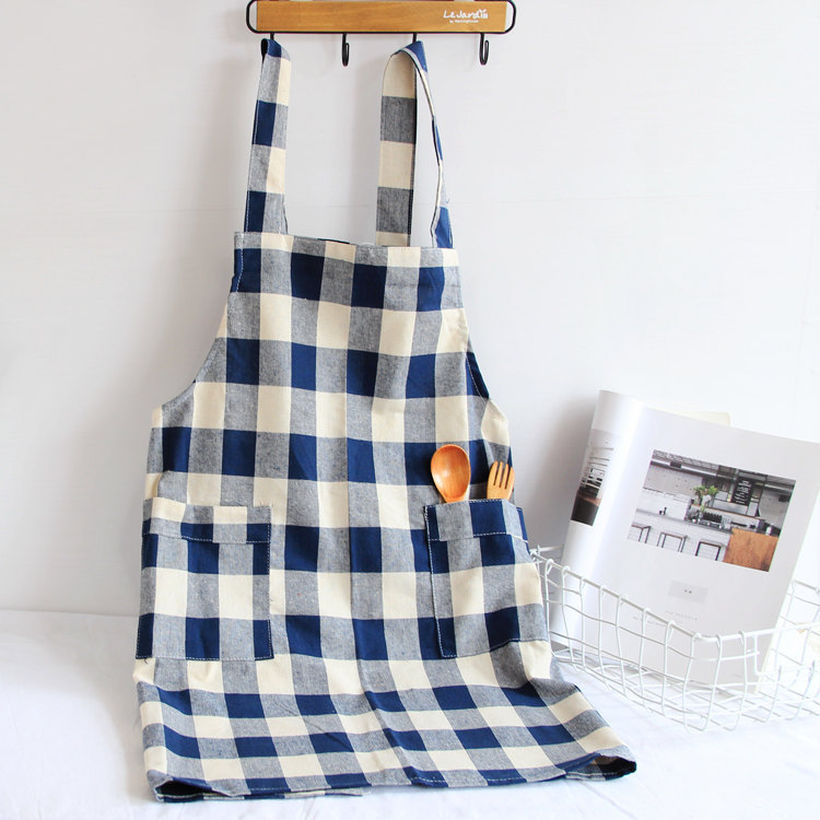 Home Decor Electronic Components & Supplies 1 Pcs Plaids Pattern Adjustable Apron Woman Adult Bibs Home Cooking Baking Shop Cleaning Apron Kitchen Accessory
