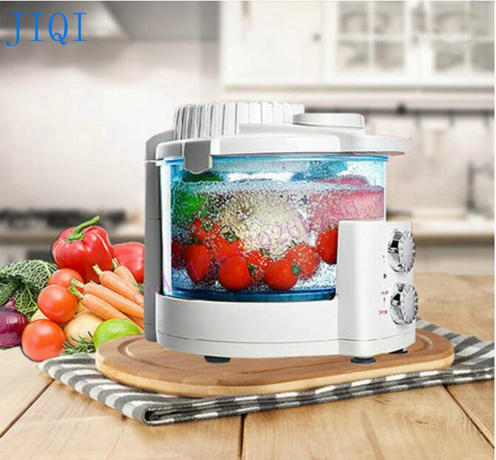 Ozone machine Vegetable washer Household automatic fruit and vegetable disinfection machine sterilizing detoxification machine  fruits vegetable ultrasonic washer fruit washing machine cleaner wash vegetables meat pesticides ozone disinfection us eu plug