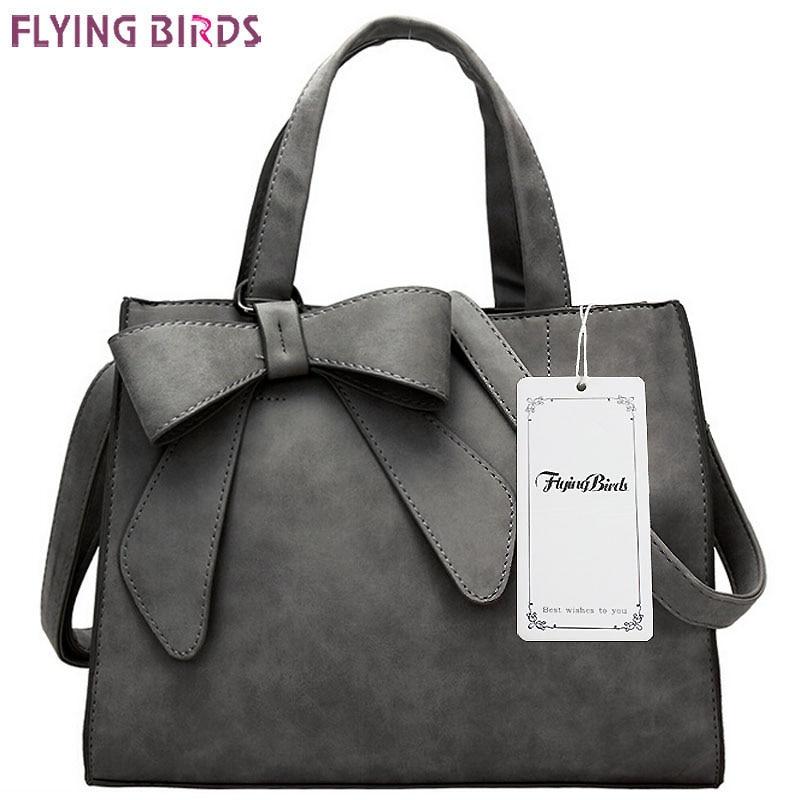 FLYING BIRDS! women leather hans