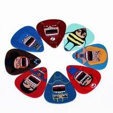 10 teile/los 0,71mm dicke gitarrengurt gitarre teile Personalisierte cute cartoon charakter plektren Gitarre Zubehör