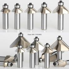 1/2*38.1mm 45 degree Bevel knife with bearing STAR-M trimming knife woodworking milling cutter router bits 3039