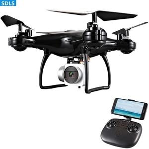 "Image 3 - מקסימום 25 דקות לשחק 2.4G RC מל ""טים Quadrocopter מסוק 1080P WIFI FPV HD מצלמה סט גובה מחזיק 3D מתגלגל מסלול טוס"
