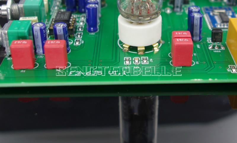Bluetooth 6J5 Tube Preamplifier Tone Board NE5532 Preamp Tweeter Bass  Adjust Bile Pre Speakers Amplifier DIY Analog Input