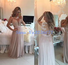 Graceful Perlen Appliques Abendkleider Lange Elegante Falte Abendkleid Chic robe de soiree vestido de festa Abendkleid