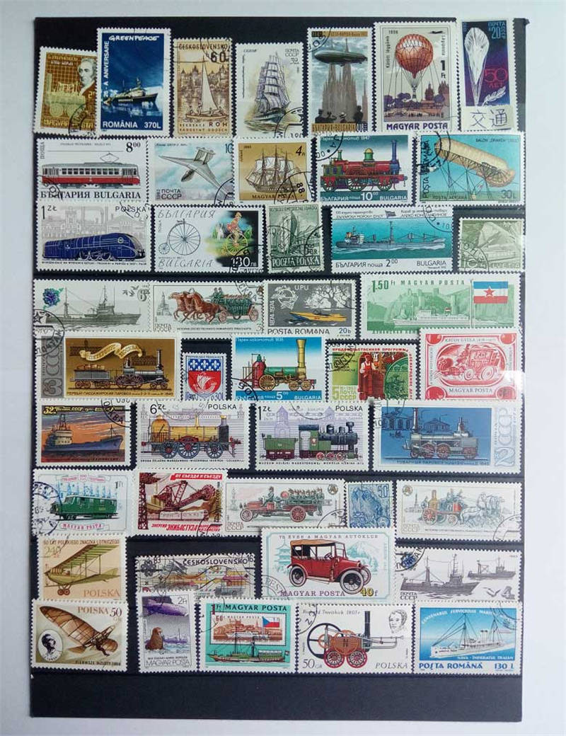 Excellent 1000 PCS/Lot Europe No Repeat Postage Stamps