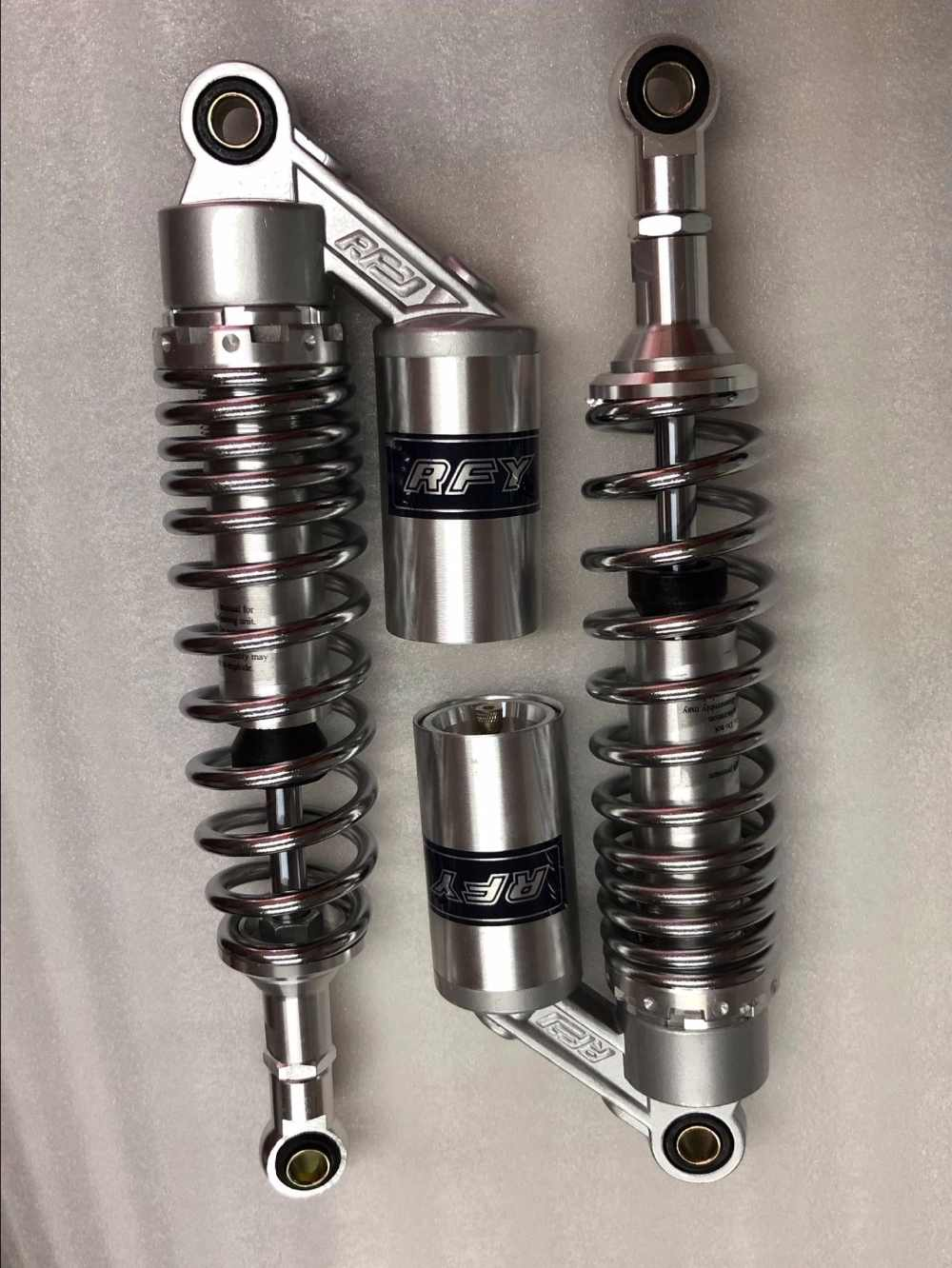 Detail Feedback Questions about 1pair 340MM Motorcycle Shock