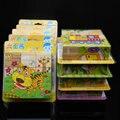 Освобожденный доставка, 3D Головоломки, шесть сторон головоломки 9 шт, мультфильм животных, здания, детские игрушки, развивающие игрушки