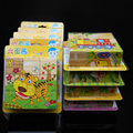 Exempt postage,3D Puzzle, six sides puzzle 9 pce, cartoon animals, building, children's toys, educational toys