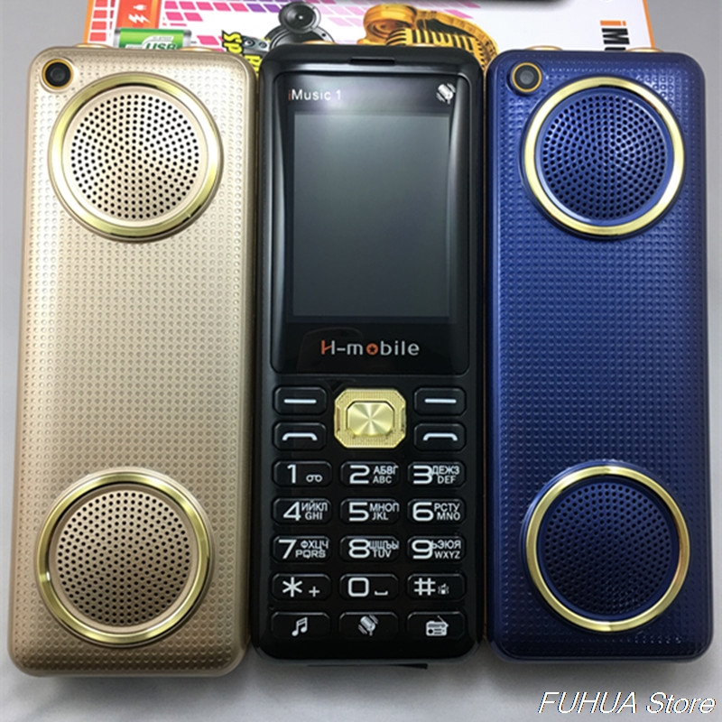 Supper Loud Music Phone H-Mobile IMusic 1 Dual Big Speaker Big Battery Power Bank Trio SIM Trio Standby Screen Mobile Cell galaxy s7 edge geekbench