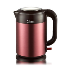 Free shipping Electric kettle automatic power off double layer heat insulation 304 stainless steel Electric kettles