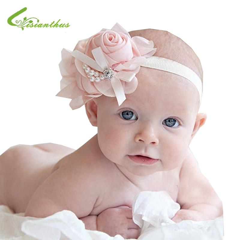 New Style Beautiful Headband Hairband Baby Girls Flowers