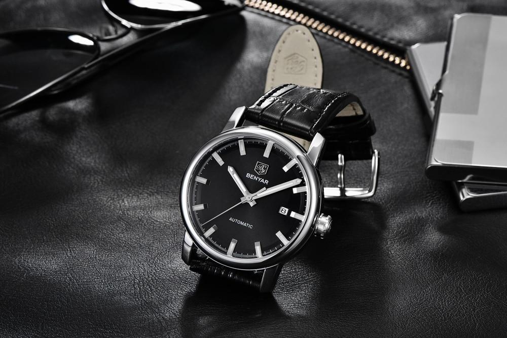 HTB1ukmlaW5s3KVjSZFNq6AD3FXaF New BENYAR Men's Mechanical Watches Automatic Mens watches Top Brand Luxury watch men WristWatch Military Relogio Masculino 2019