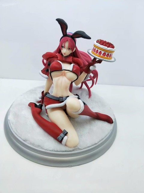 15cm Japanese Anime Valkyria Chronicles Juliana Everbart X'mas Party Ver. 1/7 Scale Sexy Adult Painted Figure Collectible Toy 3