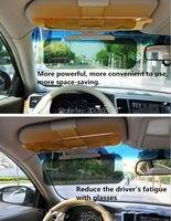 Car styling Sun visor Safety Drive accessories FOR Mitsubishi ASX Lancer 10 9 Outlander Pajero For Suzuki Swift accessories