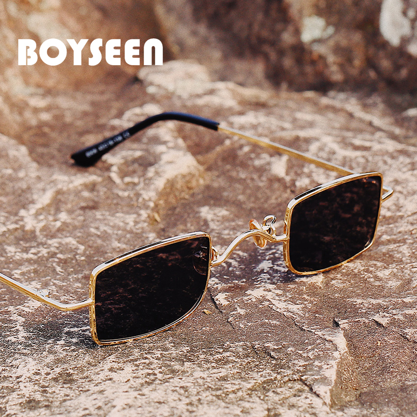 Gothic Steampunk Sunglasses Men Women Metal WrapEyeglasses Square Shades Brand Designer Sun Glasses Mirror High Quality UV400