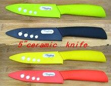"""5 """"Legumbre de Fruta del cuchillo de cerámica con la Funda + envío libre"""