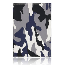 PU Leather Passport Cover Men Travel Wallet Credit Card Holder Cover Fashion Camo Passport Document Holder Wallet new lovely peter rubbit travel passport holder cover pu leather identity id card credit card holder bag document folder 14 9 6cm