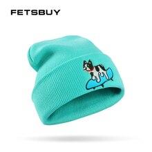 FETSBUY marca sombrero de invierno para las mujeres hombres Skullies gorros  máscara turbante femenino sombreros estrella ba84a0ec56a