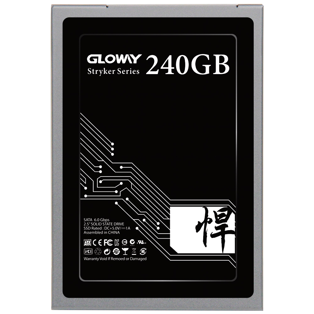 Gloway High quality 3 years warranty SSD 240GB SATAIII SSD SATA3 240gB SSD Solid state drive Hard Disk with Factory best price