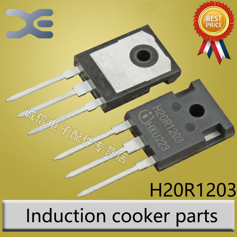 6 Models IGBT Power Tube H20R1203 FGA25N120 H25R1202 H20R1202 FGA25N120 FGA15N120 ANTD Induction Cooker Parts h20r1203 20r1203 igbt