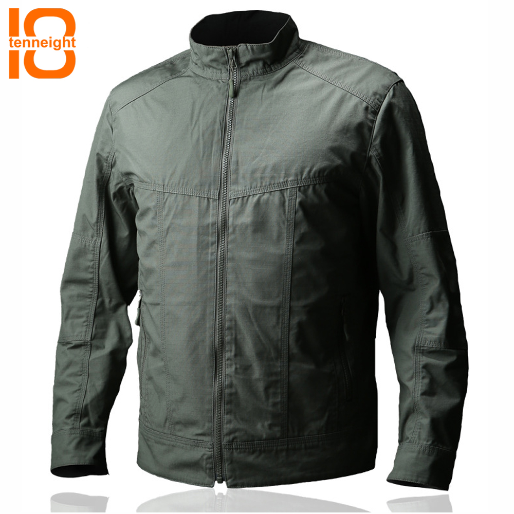 TENNEIGHT Men's Tactical Bomber Jacket Special Forces Military jacket waterproof Pilot Coat male Casual hiking climbing Jacket цена и фото