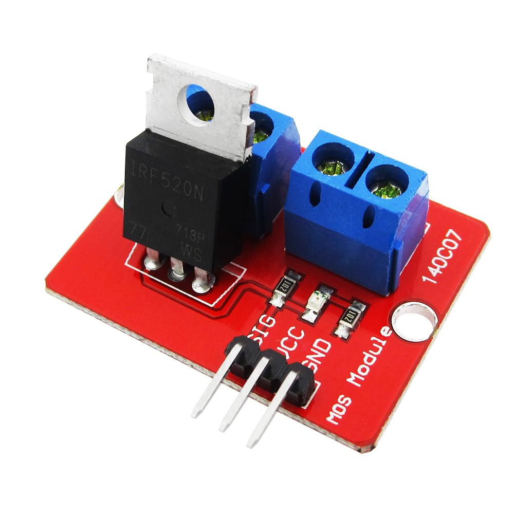 TOP MOSFET Button IRF520 MOSFET Driver Module For ARM Raspberry Pi