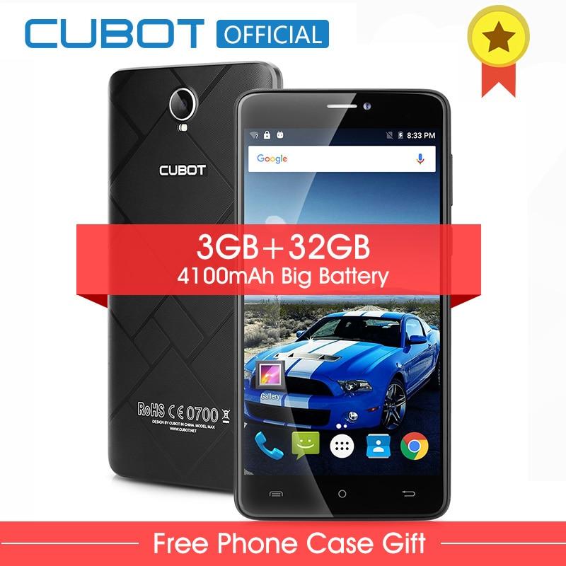 Cubot Max Android 6.0 MTK6753A Octa-core Smartphone 6,0 Zoll 3 GB RAM 32 GB ROM Handy 4100 mAh 4G LTE Mobilen telefon