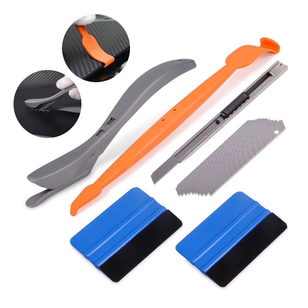 EHDIS Carbon Vinyl Film Wrapping Car Magnet Squeegee Scraper Cutter Knife Auto Wrap Magnetic Sticker Tints Accessories Tool Kit EHDIS Carbon Vinyl Film Wrapping Car Magnet Squeegee Scraper Cutter Knife Auto Wrap Magnetic Sticker Tints Accessories Tool Kit