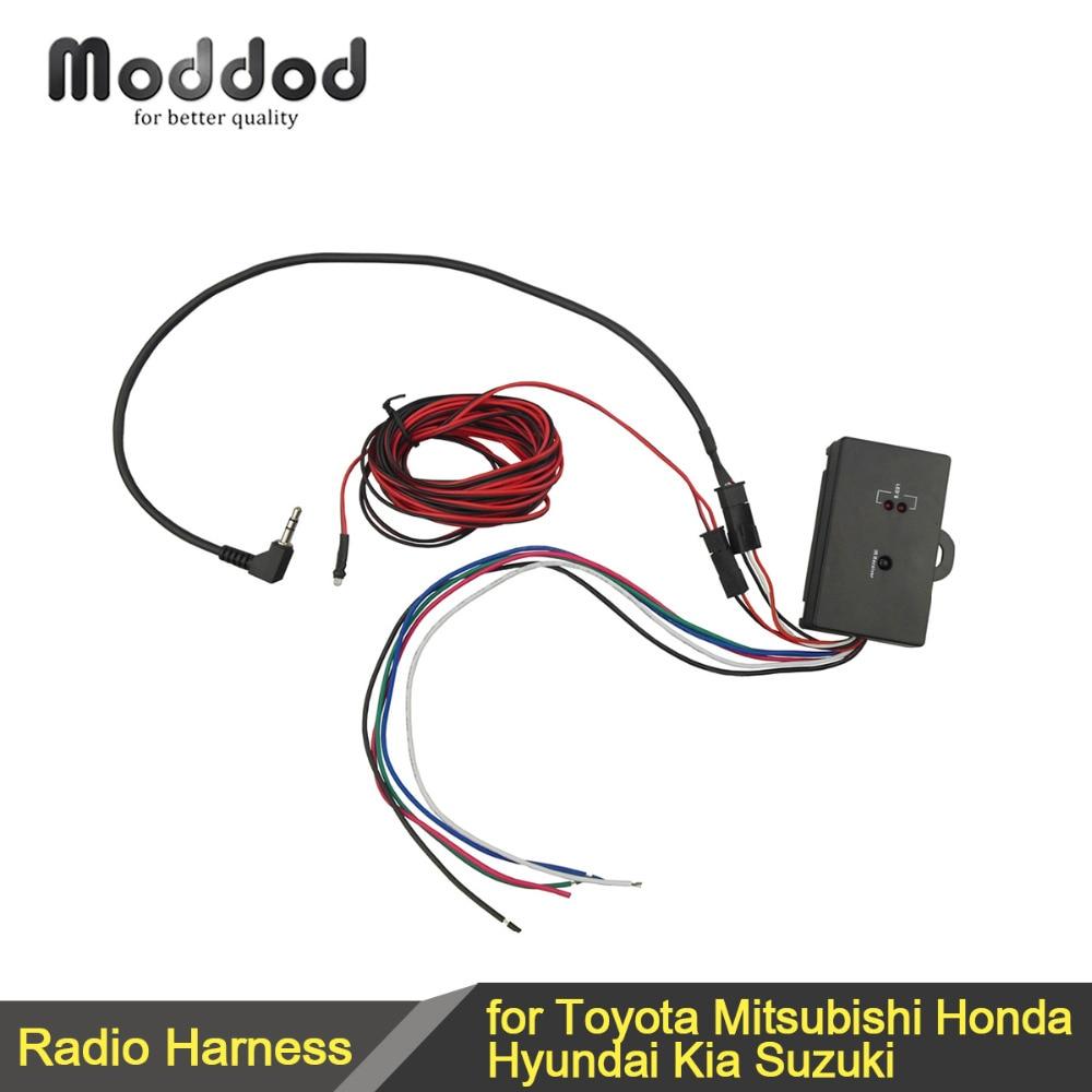 SWC-interface Universele resistente stuurbediening voor Toyota Mitsubishi Honda Hyundai Kia Suzuki aftermarket-adapter