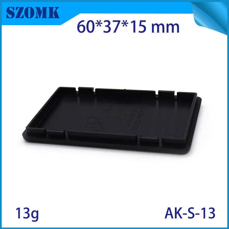 (4 pièces) boîtiers électroniques en plastique de jonction de petite boîte d'abs boîtiers en plastique d'abs 60*37*15mm