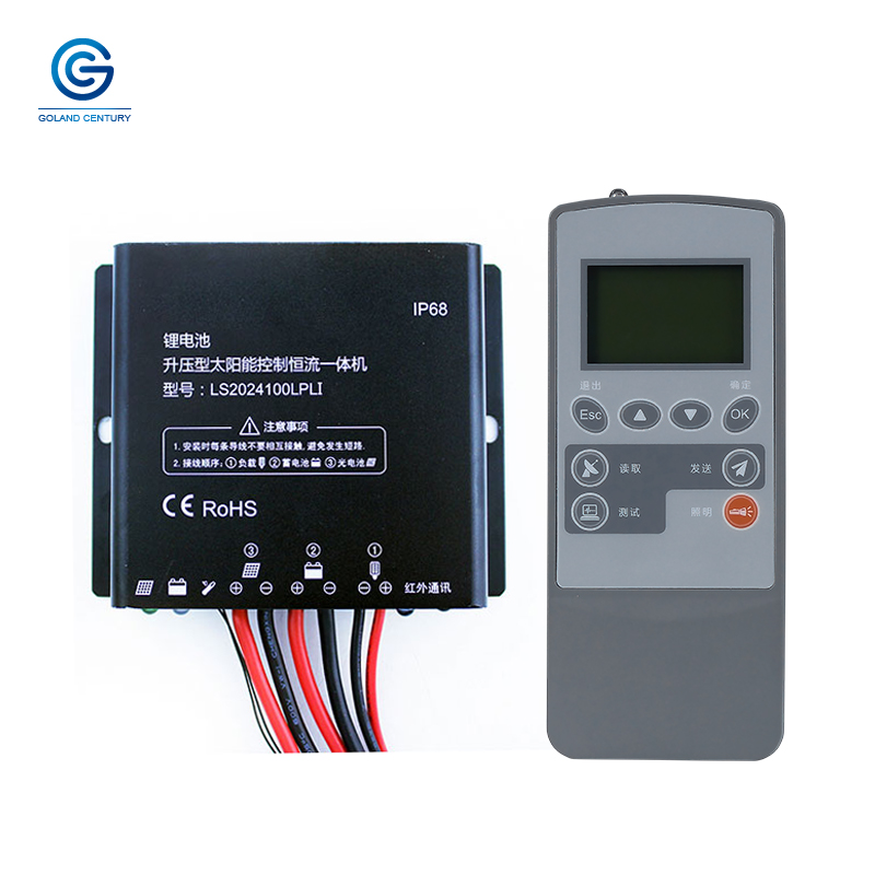 Waterproof IP68 PWM 20A 12V 24V Boost Constant Current Solar Street Light Charge Controller LS2024100LPLI With LED Driver in Solar Controllers from Home Improvement