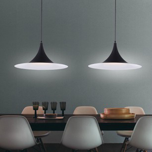 Single head office modern minimalist dining room chandelier ...