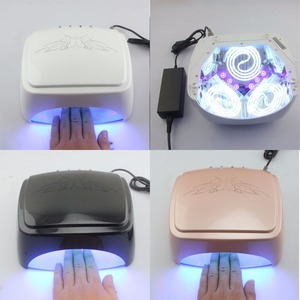 Image 5 - LKE Nail lamp 60W CCFL LED UV Lamp High Power Nail Machine For LED Phototherapy Nail Gel And Nail Art Manicure Popular Design