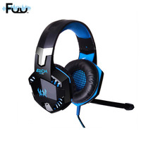 Deep Bass Game Headphone Stereo Surrounded Sound Over Ear Gaming Headset Headband Earphone With Led Light