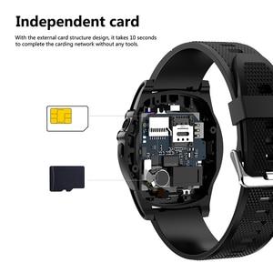 Image 4 - Schleimiges Smart Uhr Telefon SW18 Uhr SIM Push Nachricht Antwort Zifferblatt Call Bluetooth Berechnung Für Android Telefon PK Q18 Smart uhr
