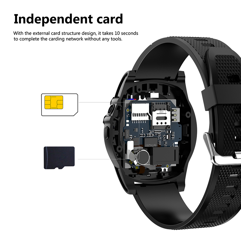 Image 4 - Slimy Smart Watch Phone SW18 Clock SIM Push Message Answer Dial Call Bluetooth Calculation For Android Phone PK Q18  Smart Watch-in Smart Watches from Consumer Electronics