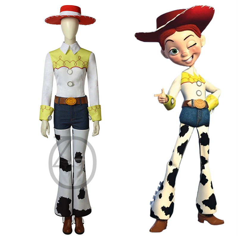 939fd955 US $22.95 49% OFF|Toy Story The Yodeling Cowgirl Jessie Outfit Cosplay  Costume Halloween Carnival Costumes For Adult Full Sets-in Movie & TV  costumes ...