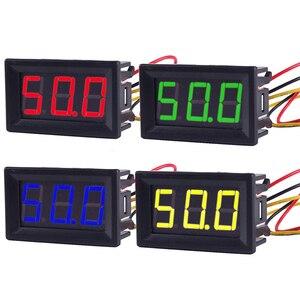 0,56 дюймовый Мини цифровой вольтметр Амперметр постоянного тока 100 в 10 А вольтметр измеритель тока тестер синий + красный двойной светодиодный дисплей зеленый красный желтый