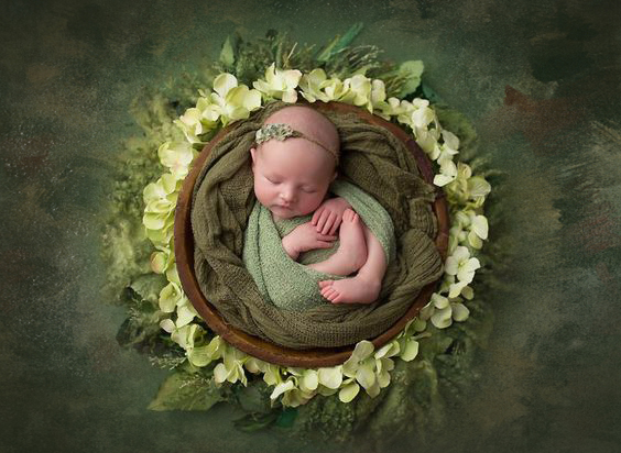 Baby Floral Photography Backdrops Photographic Studio Photo Background Cloth