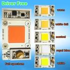 1pcs 50w 220v COB LED Driver Free Cool White / Warm / Neutral / Bule / White Full Spectrum Grow Led lamps Light For Plants