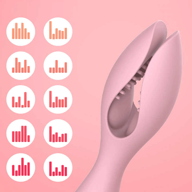 Potente Clitoride Vibratori per Le Donne USB Carica AV Bacchetta Magica Massager Del Vibratore Giocattoli Adulti Del Sesso per la Donna Masturbatore Due Testa