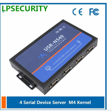 LPSECURITY USR-N540 4 porte Serial Device Server, RS232 485 422 a Ethernet Converter module controller Seriale