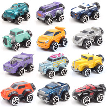 4pcs/set 1:64 Scale Mini Monster Truck Corgi bigfoot Diecast & vehicles miniature cars model toy for baby kids game play wheels 1 24 scale storage container truck plastic vehicles toys with diecast mini car hot alloy auto wheels magic tracks cars for kids