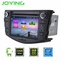 Joying 7 Car GPS Navigation For Toyota RAV4 1 6GHz Double 2 DIN Quad Core Android