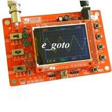 DSO138 2.4 «tft цифровой осциллограф DIY Kit 1msps с зонд ручной Карманные осциллограф костюм электронного обучения комплект