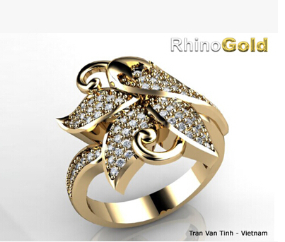 Jewelry Design Rhino 5 Tutorial widget RhinoGold 40 for Rhino 5 PC